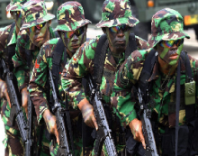 The indictment of TNI officers for violations in East Timor